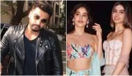 Late Sridevi's daughters Janhvi and Khushi Kapoor visits brother Arjun Kapoor with father Boney Kapoor