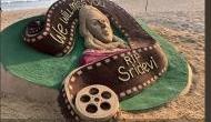 In Pics: Sudarsan Pattnaik and Manas Sahoo pay tribute to Sridevi through their sand arts