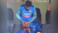जब मैच के बीच विराट ने धवन को दी हेड मसाज, वीडियो वायरल