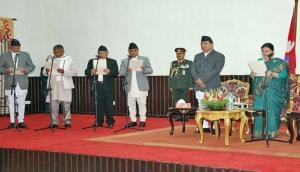Four new ministers inducted in Nepal's first cabinet