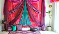 Hosting Holi party? Use dupattas for home décor