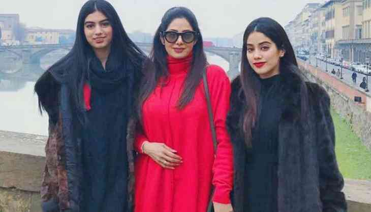 Sridevi Funeral Janhvi Khushi Kapoor Lost Their Control