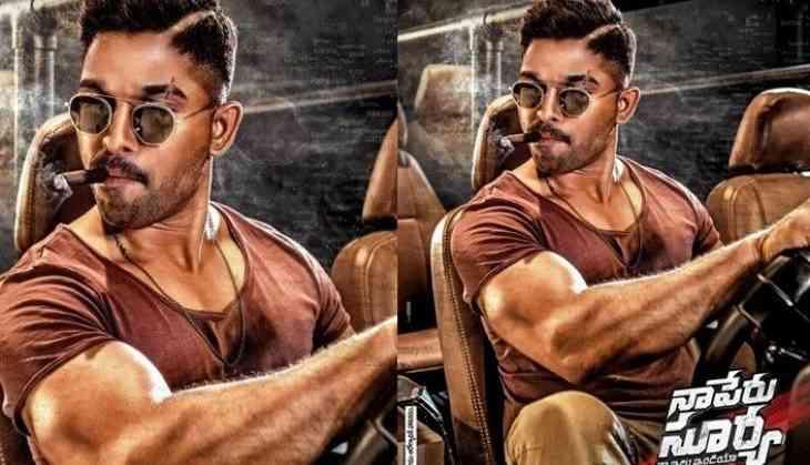Allu Arjun looks intense in NPS poster