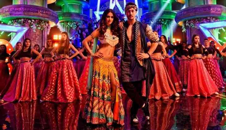 OYE PUNJABI! Tiger Shroff & Disha Patani Do The Bhangra For Baaghi 2