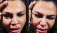 Video: श्रीदेवी के गम में फूट-फूटकर रोईं राखी सावंत, और फिर...