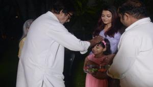 Happy Holi 2018: महानायक के घर ऐसे मनी होली, देखिए ब्यूटीफुल ऐश्वर्या और क्यूट आराध्या की तस्वीरें