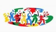 Happy Holi 2018: Google ने रंगों से भरा Doodle बना कर दी होली की शुभकामनाएं