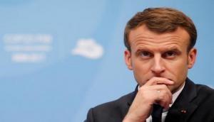 President Emmanuel Macron vows to rebuild Notre-Dame after devastating fire