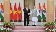 PM Modi welcomes Vietnamese President at Hyderabad House