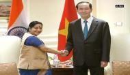 Sushma Swaraj meets Vietnamese President Tran Dai Quang