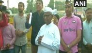 SSC exam paper leak: Anna Hazare meets protestors