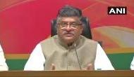 हमारी सरकार में दिया गया कर्ज नहीं हुआ एनपीए : रविशंकर प्रसाद