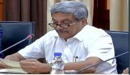 गोवा : CM मनोहर पर्रिकर को है अग्नाशय का कैंसर, स्वास्थ्य मंत्री ने दी जानकारी