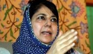 महबूबा मुफ्ती का बयान- धारा 370 हटा तो 2020 तक कश्मीर को भारत से अलग कर लेंगे