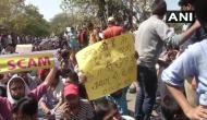 SSC पेपर लीक मामला: राजनाथ सिंह के CBI जांच के आश्वासन के बावजूद छात्रों ने नहीं रोका प्रदर्शन