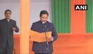 कोनराड संगमा ने ली मेघालय के CM पद की शपथ, राजनाथ और अमित शाह रहे मौजूद