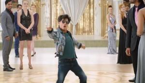 Zero star Shah Rukh Khan re-created the iconic 'kkk-Kiran' scene of 'Darr', this time for Katrina Kaif