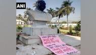 Madhya Pradesh: Vandalised bust of Syama Prasad Mukherjee found in trash