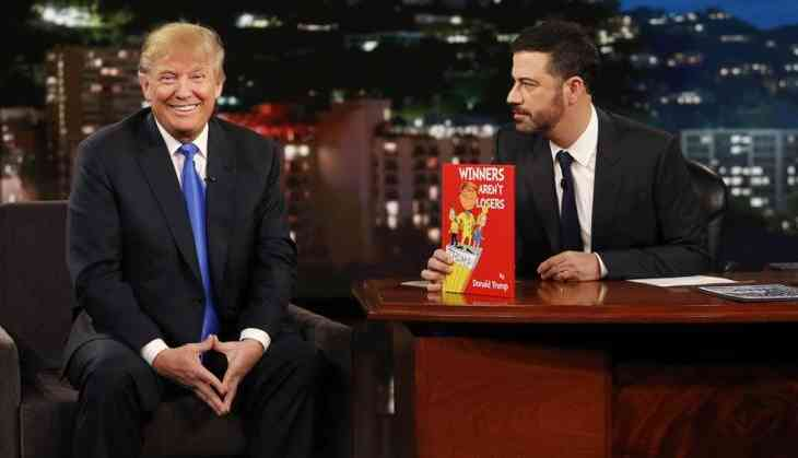 TV Host Jimmy Kimmel says Trump is the lowest rated President