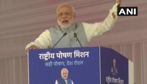 पीएम मोदी ने देश को दिया नया मंत्र, कहा- पीएम का मतलब पोषण मिशन