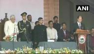 Rio sworn in as CM, becomes 1st Nagaland leader to take oath outside Raj Bhavan