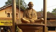 पेरियार के बाद केरल में महात्मा गांधी की मूर्ति को पहुंचाया नुकसान
