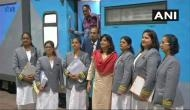 Indian railways deploy all women ticket checking staff
