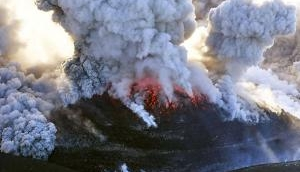 Japan's Mt. Shinmoe erupts: Ashes spread over cities