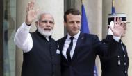 फ्रांस के राष्ट्रपति मेक्रों राफेल बनाने वाली कपंनी के CEO को लेकर आ रहे हैं भारत यात्रा पर