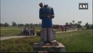 यूपी के आजमगढ़ में अंबेडकर की मूर्ति तोड़ी गई, पीएम मोदी और राजनाथ की नाराजगी बेअसर