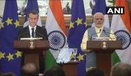 भारत और फ्रांस के बीच रक्षा, स्पेस और ऊर्जा सहित 14 अहम समझौतों पर हस्ताक्षर