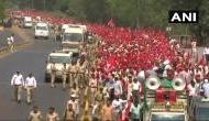 महाराष्ट्र विधानसभा का घेराव करने मुंबई पहुंचे 30 हजार से ज्यादा किसान, पुलिस हुई अलर्ट