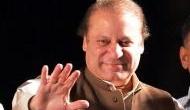 Lahore: Shoe hurled at Nawaz Sharif in Jamia Naeemia's mosque