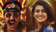 प्रिया प्रकाश वॉरियर की होगी बॉलीवुड में एंट्री, रणवीर सिंह के साथ दिखेंगी कातिलाना अदाएं
