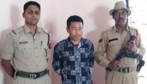 A NDFB (S) militant surrenders in Kokrajhar