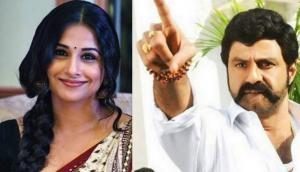 CONFIRMED! Vidya Balan to make Telugu debut with Balayya in NTR's biopic