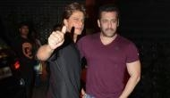 Shah Rukh Khan takes dig at Salman Khan says, 'You are earning 300 crores, I have to take Filmfare'