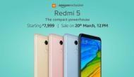 Xiaomi Redmi 5: भारत में लॉन्च हुआ स्लिम और दमदार बजट स्मार्टफोन