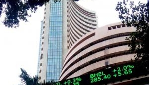 Equity indices surge on global cues, Reliance gains 2.9%