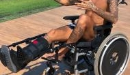 OMG! Neymar Jr pisses off the entire internet by comparing his injury to Stephen Hawking's ALS