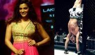 I really look up to Akshay Kumar, he is tremendously fit and an inspiration, says Rey and Mirziya actress Saiyami Kher