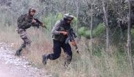 Four militants killed in an encounter with security forces in J&K's Pulwama district
