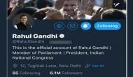 राहुल गांधी ने बदला अपने ट्विटर हैंडल का नाम, अब इस नाम से करेंगे ट्वीट