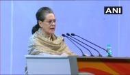 Congress Plenary Session: Sonia Gandhi says,
