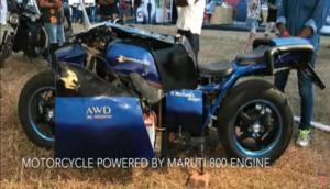 इस हिंदुस्तानी युवा ने बनाई दुनिया की पहली अनोखी बाइक, दोनों दिशाओं में चलते हैं दोनों पहिये