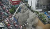 Philippine hotel fire four killed, at least 19 trapped