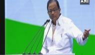 BJP govt pushed people into poverty: Chidambaram
