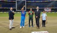 IND VS BAN Final LIVE: टीम इंडिया ने टॉस जीतकर बांग्लादेश को दी बल्लेबाजी की चुनौती