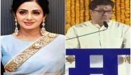 Raj Thackeray critises Sridevi's state funeral