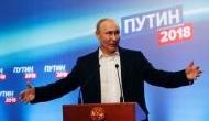 Vladimir Putin wins presidential elections